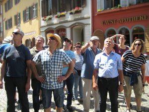 Interessantes bei der Stadtführung in Staufen